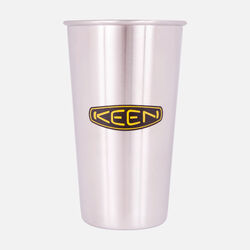Keen Pint Cup in Silver - small view.