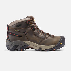 Men's Detroit Mid (Soft Toe) in Black Olive - small view.