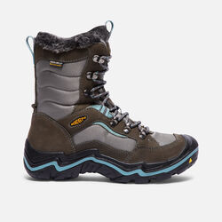 Women's Durand Polar Waterproof Boot in Magnet/Mineral Blue - small view.