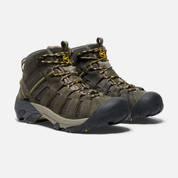 Men's Voyageur Mid in Raven/Tawny Olive - small view.