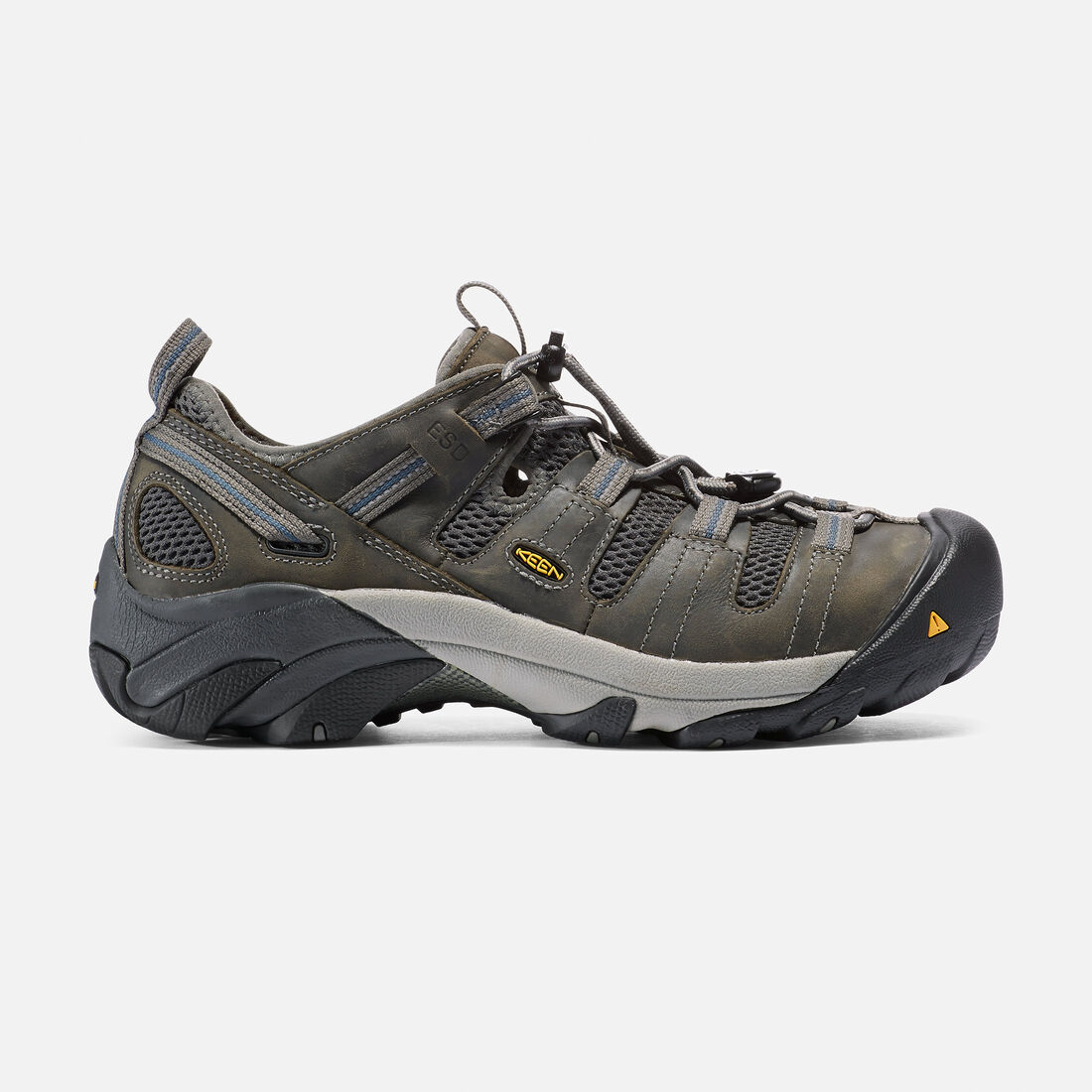 Men's Atlanta Cool ESD (Steel Toe) in Gargoyle - large view.