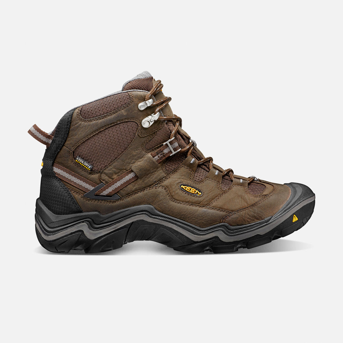 Men's Durand Waterproof Mid Wide in Cascade Brown/Gargoyle - large view.