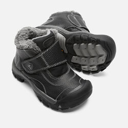 Little Kids' Kootenay in Black/Neutral Gray - small view.