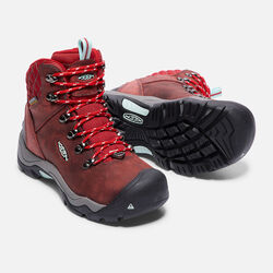 Women's Revel III in Racing Red/Eggshell - small view.