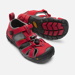 Little Kids' SEACAMP II CNX in Racing Red/Gargoyle - small view.