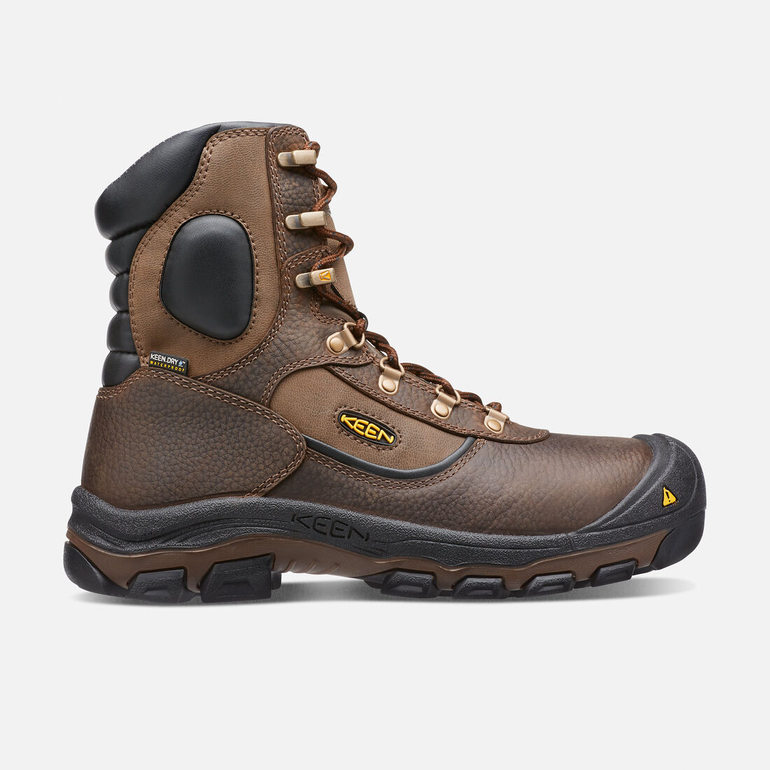 Men's Leavenworth Insulated Waterproof Boot (Steel Toe) in Cascade Brown - large view.