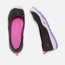Little Kids' Moxie Flat in Black/Liberty - small view.