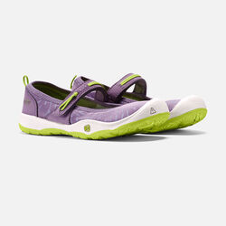 Little Kids' MOXIE MARY JANE in Purple Sage/Greenery - small view.