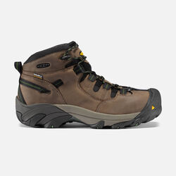 Men's Detroit Mid (Steel Toe) in Brindle - small view.