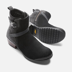 Women's Morrison Mid in Black/Black - small view.