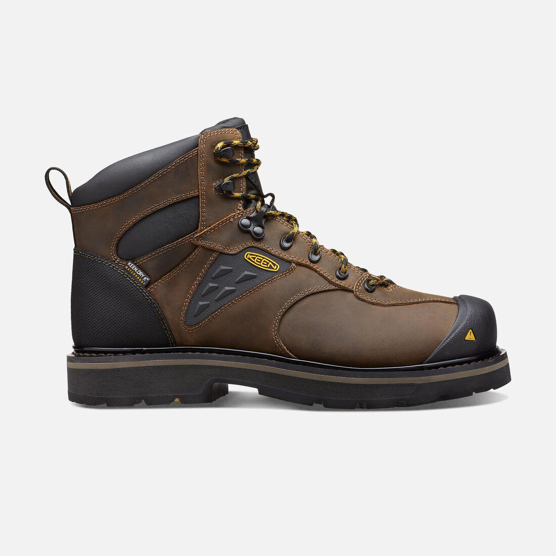 Men's Tacoma Waterproof (Soft Toe) in Cascade Brown - large view.