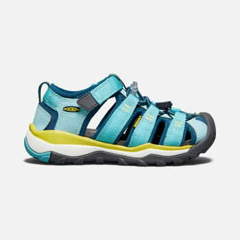 Little Kids' NEWPORT NEO H2 in AQUA SEA/LEGION BLUE - large view.