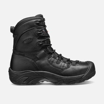 "Men's CSA Oshawa 8"" Boot (Steel Toe) in BLACK - large view."