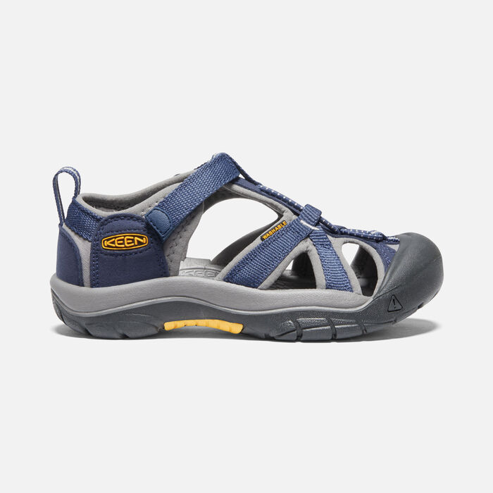 Big Kids' Venice H2 in Navy/Gray - large view.