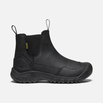 WOMEN'S HOODOO III CHELSEA WATERPROOF WINTER BOOTS in BLACK/BLACK - large view.