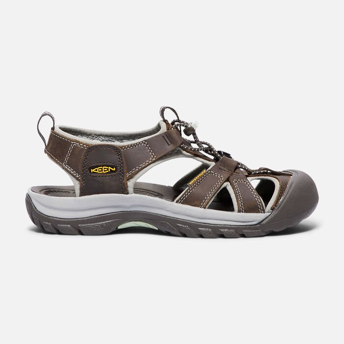 Women's Venice Sandals in Black Olive/Surf Spray - large view.
