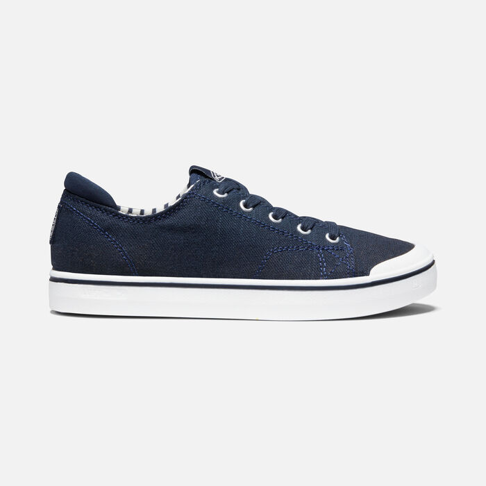 Women's Elsa IV Sneaker in Blue Nights/Star White - large view.