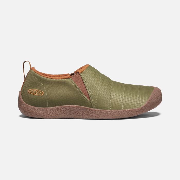 Men's Howser II Slipper in Olive Drab/Caramel Cafe - large view.