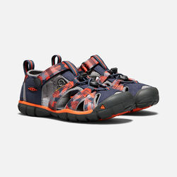 Big Kids' SEACAMP II CNX in DRESS BLUES/SPICY ORANGE - small view.