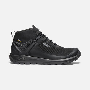 Men's Citizen Evo Waterproof Knit Casual Boots in TRIPLE BLACK/BLACK - large view.