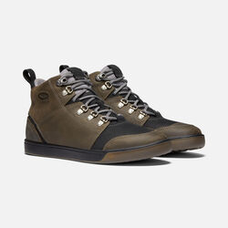 Men's WINTERHAVEN Waterproof Boot in Alcatraz/Black - small view.