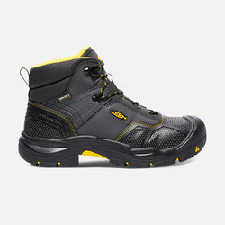 Men's LOGANDALE Waterproof Boot (Steel Toe) in Raven/Black - small view.