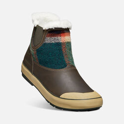 Women's Elsa Chelsea in Coffee Bean Wool - small view.