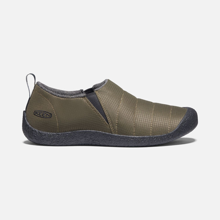 Men's Howser II Slipper in Dark Olive/Black - large view.