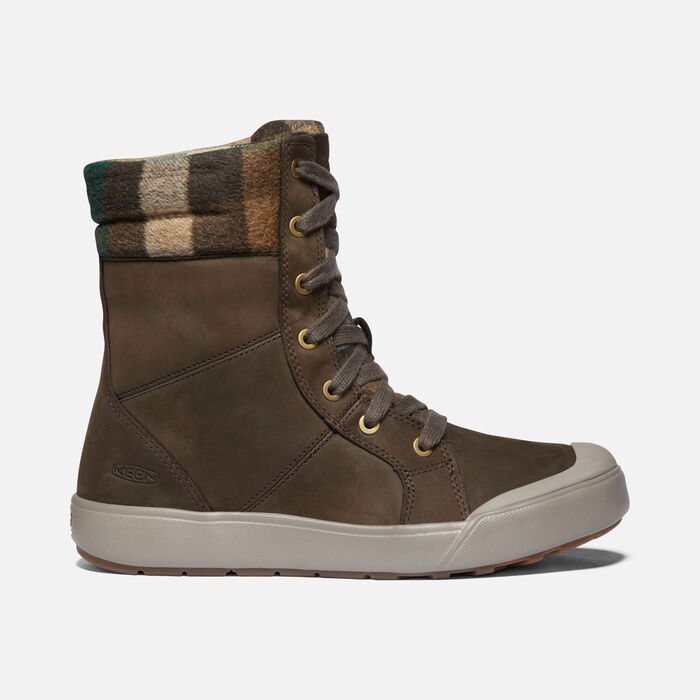 Women's Elena Boot in MULCH/BRINDLE - large view.