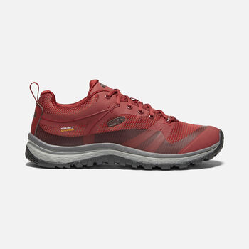 Women's TERRADORA Waterproof in MERLOT/RAVEN - large view.