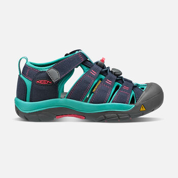 Little Kids' Newport H2 in MIDNIGHT NAVY/BALTIC - large view.