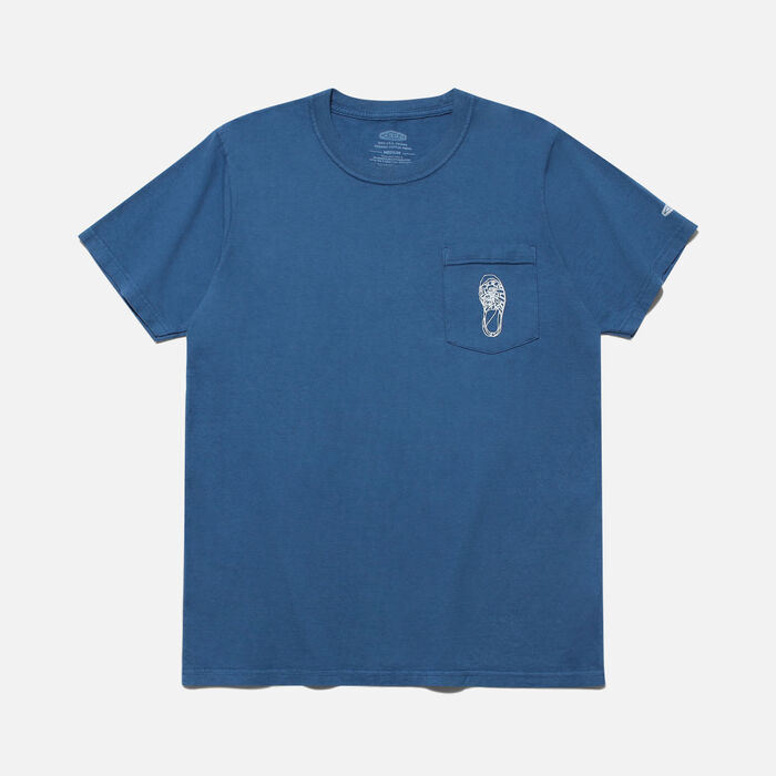 POCKET Tシャツ NEWPORTH2 in Gulf Blue - large view.