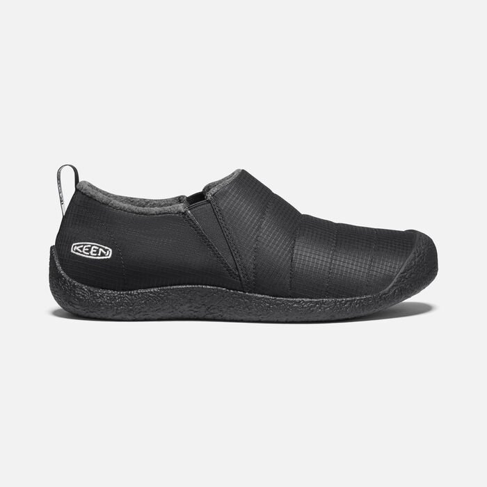 Men's Howser II Slipper in Triple Black - large view.
