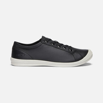 Women's Lorelai Casual Trainers in BLACK - large view.