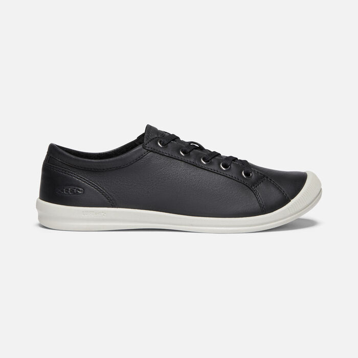 Women's Lorelai Sneaker in BLACK - large view.