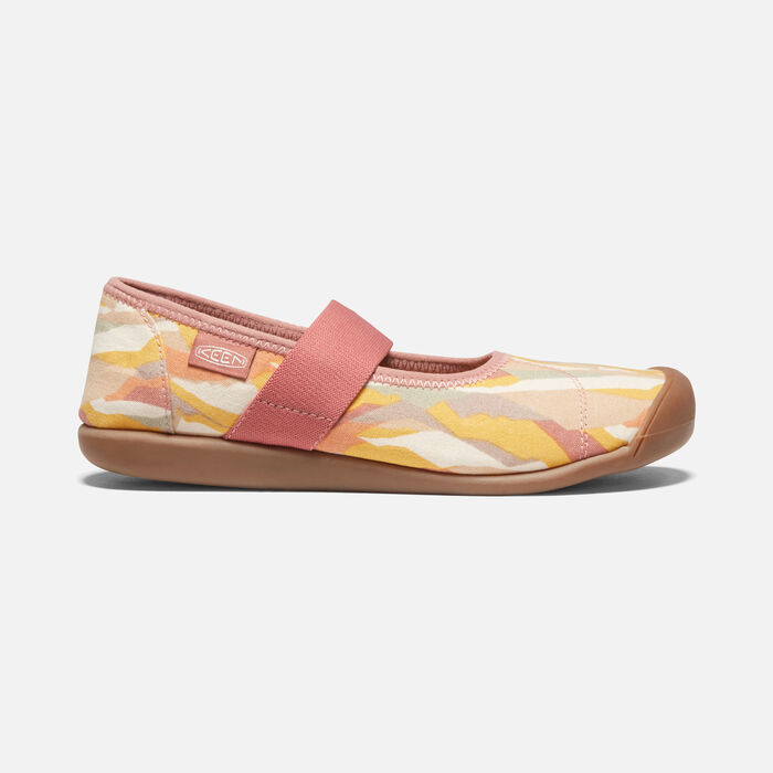 Women's Sienna Canvas Mary Jane in Brick Dust/Birch - large view.