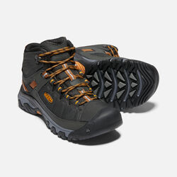 MEN'S TARGHEE EXP WATERPROOF MID HIKING BOOTS in RAVEN/INCA GOLD - small view.