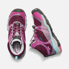 Terradora Waterproof Mid Wanderstiefel für Jugendliche in BOYSENBERRY/RED VIOLET - small view.