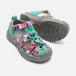 YOUNGER KIDS' WHISPER  SANDALS in Raya Fusion - small view.