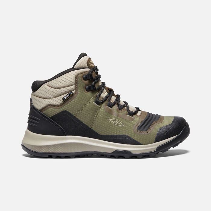 Women's Tempo Flex Waterproof Hiking Trainer Boots in Capulet Olive/Rosin - large view.