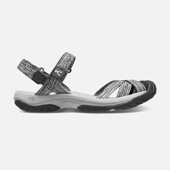 WOMEN'S BALI STRAP  SANDALS in NEUTRAL GRAY/BLACK - large view.