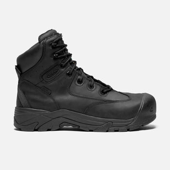 CSA Val-D'Or Waterproof Mid (Composite Toe) pour homme in Black - large view.