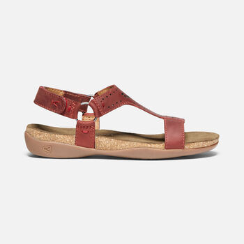 WOMEN'S KACI ANA T-STRAP CASUAL SANDALS in BOSSA NOVA - large view.