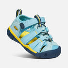 SEACAMP II CNX SANDALES POUR PETITS ENFANTS in Petit Four/Keen Yellow - small view.