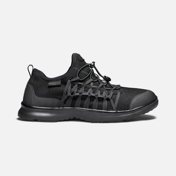 MEN'S UNEEK EXO in TRIPLE BLACK - large view.