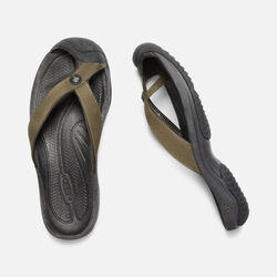 MEN'S WAIMEA H2 SANDALS in DARK OLIVE/BLACK OLIVE - small view.