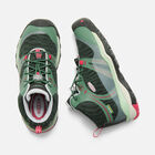 Terradora Waterproof Mid Wanderstiefel für Jugendliche in DUCK GREEN/QUIET GREEN - small view.