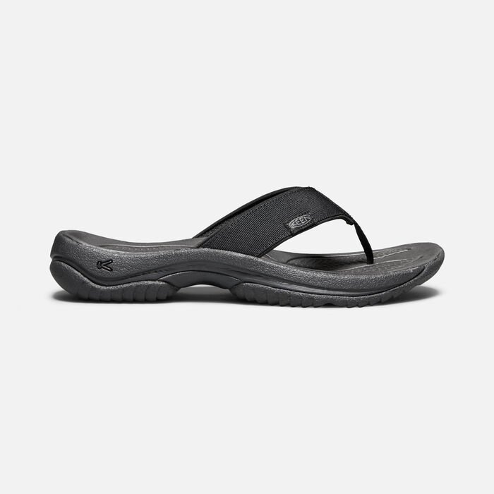 Men's Kona Flip II in BLACK/STEEL GREY - large view.