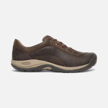 Women's Presidio II Leather Shoes in DARK EARTH - large view.