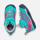 YOUNGER KIDS' CHANDLER CNX TRAINERS in Viridian/Very Berry - small view.